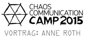 Logo des Chaos Communication Camps 2015