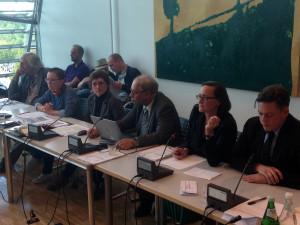 Panel der Pressekonferenz vom 17.09.2015
