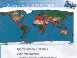 Folie einer NSA-Präsentation zu XKeyscore