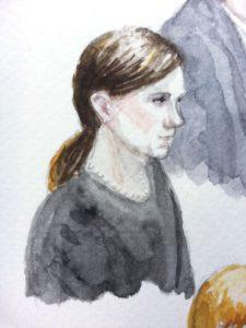 Ashley Gorsky, ACLU | Zeichnung: © Stella Schiffczyk