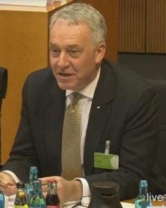 David Anderson, Independent Reviewer of Terrorism Legislation | Screenshot: bundestag.de