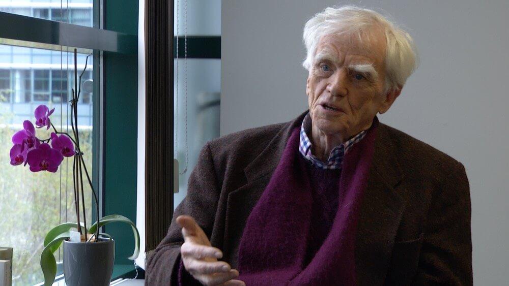 Hans-Christian Ströbele im Interview mit Antonia Witt